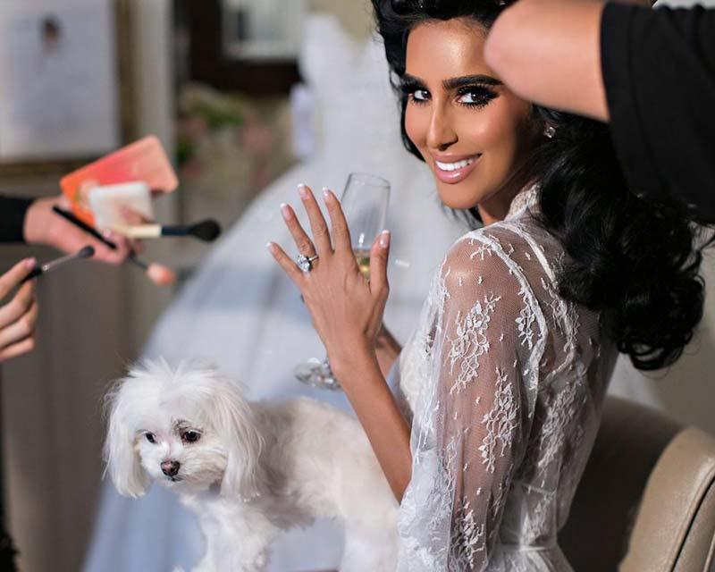 روز عروسی لیلی قالیچی
