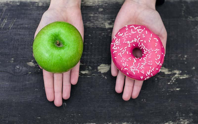 کالری شیرینی و سیب