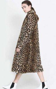 کت پلنگی بلند زنانه