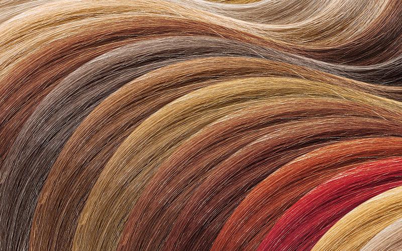 رنگ مو در خانه
