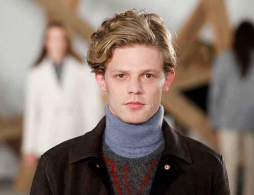 چند مدل مو برای پیشانی بلند مردانه