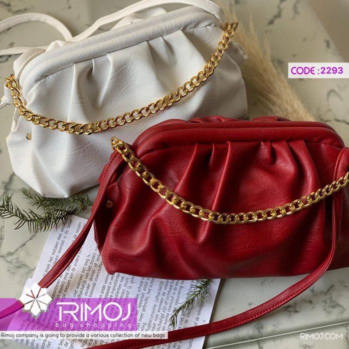 کیف سفید و کیف قرمز
