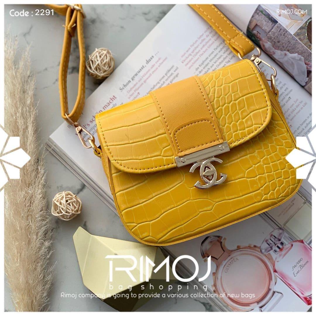 کیف زرد