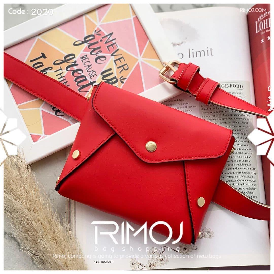 کیف کمری قرمز