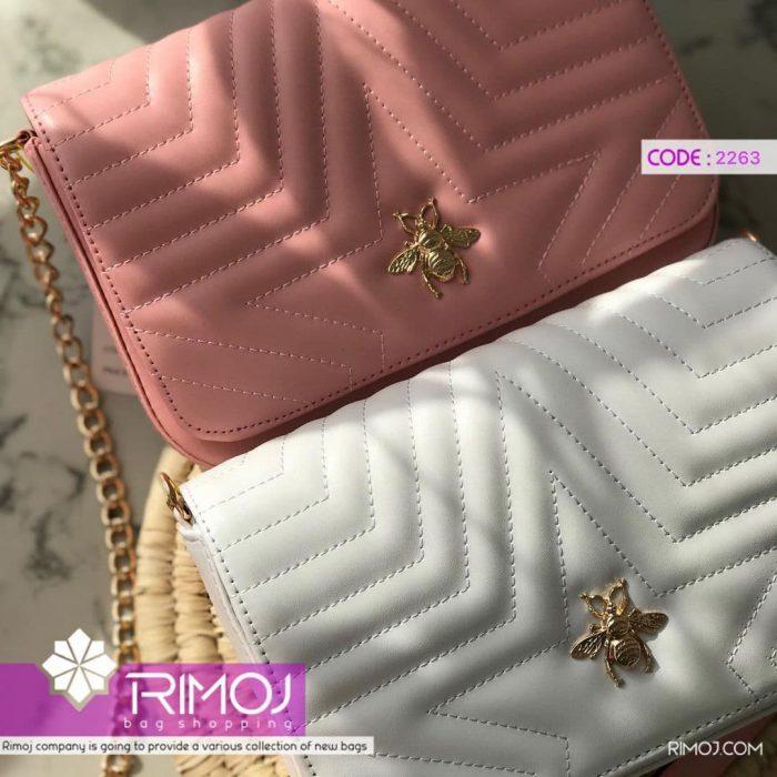 کیف دستی سفید