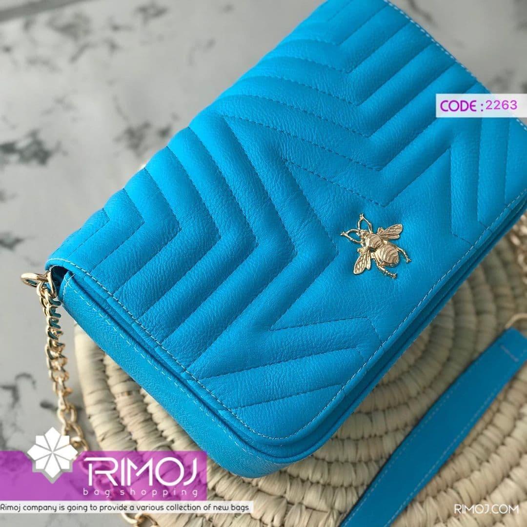 کیف دستی آبی
