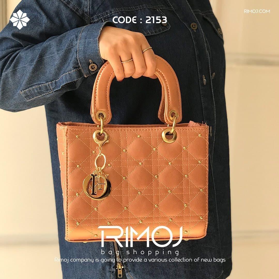 کیف دستی قهوه ای روشن