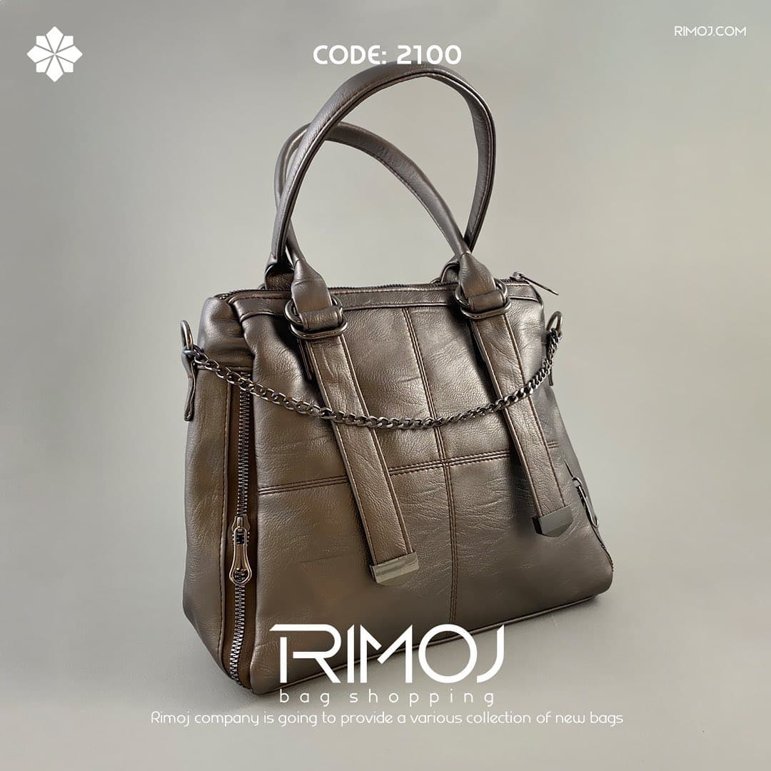 کیف دوشی قهوه ای کمرنگ