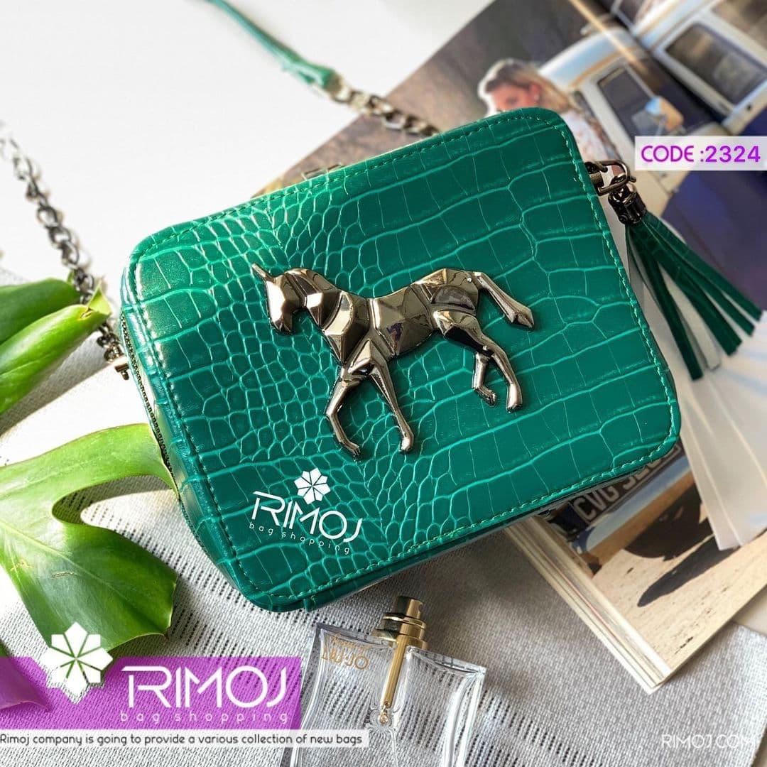 کیف دوشی سبز