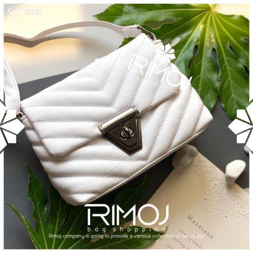 کیف دوشی سفید